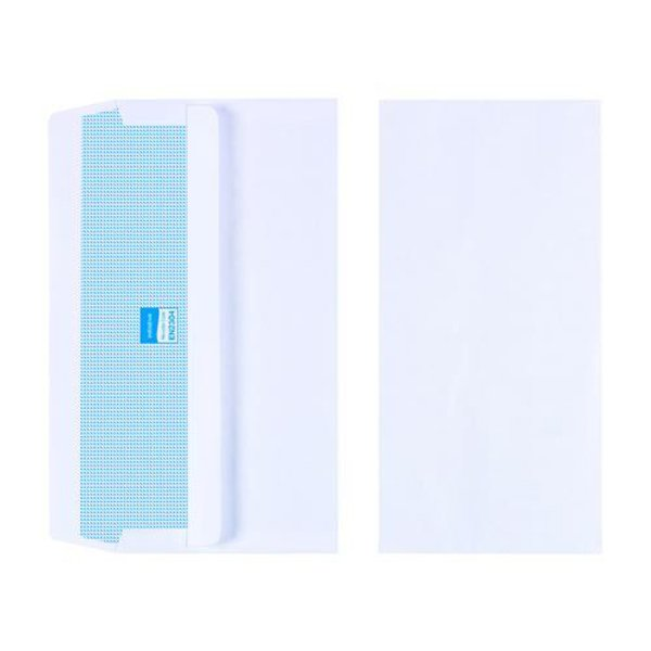Initiative Envelope DL Self Seal 90gsm White Pack 1000s