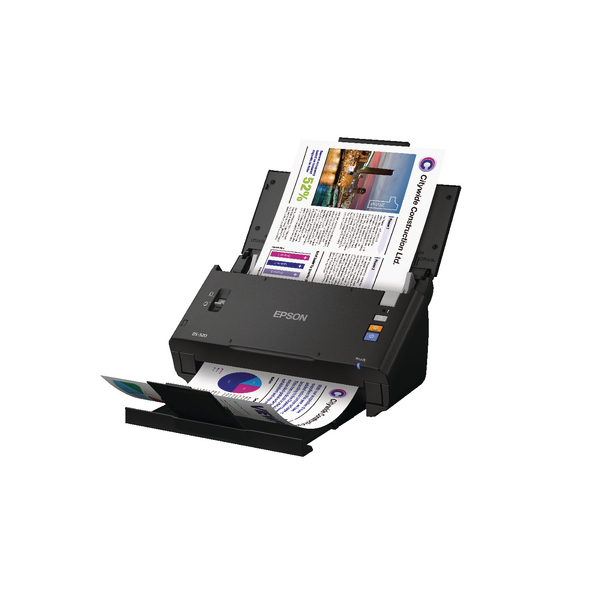 Epson WorkForce DS-520 A4 Document Scanner B11B234401BY