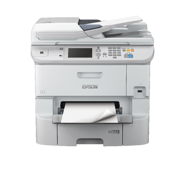 Epson WorkForce Pro WF-6590DWF A4 Multifunction Colour Inkjet Printer C11CD49301BY