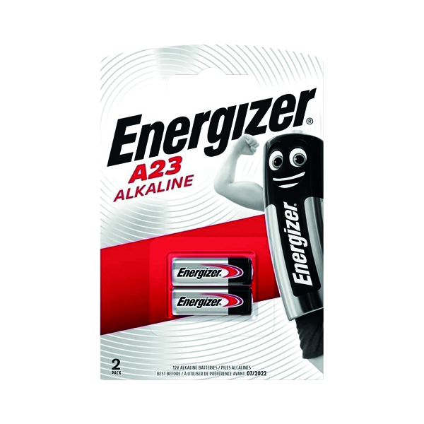 Energizer Alkaline Battery A23/E23A (2 Pack) 629564