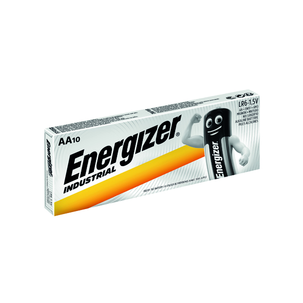Energizer Industrial AA Batteries (10 Pack) 636105