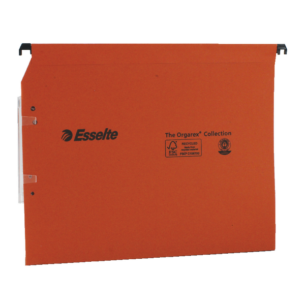 Esselte Orgarex 50mm Lateral File A4 (25 Pack) BOGOF ES810753
