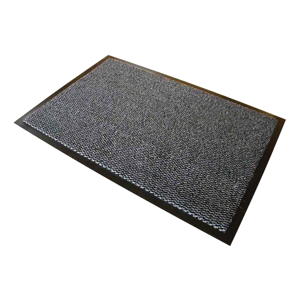 Doortex Dust Control Mat Roll 900x3000mm Grey 490300PPMR
