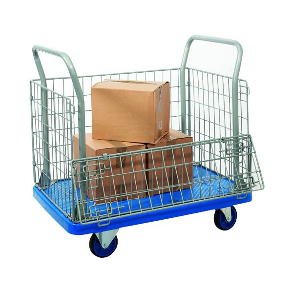 Mesh Sided Platform Trolley 317413