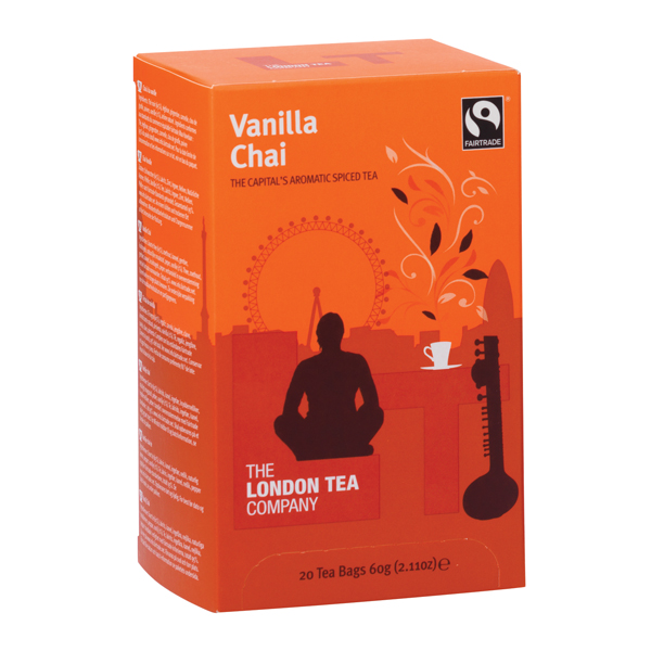 London Tea Vanilla Chai Tea (20 Pack) FLT19149