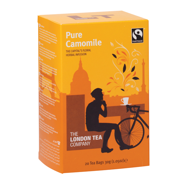 London Tea Camomile Tea (20 Pack) FLT0001