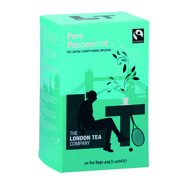 London Tea Peppermint Tea (20 Pack) FLT0002