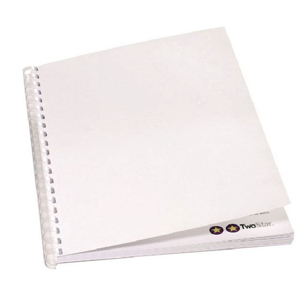 GBC Binding Covers 220gsm A4 White (100 Pack) CE080070