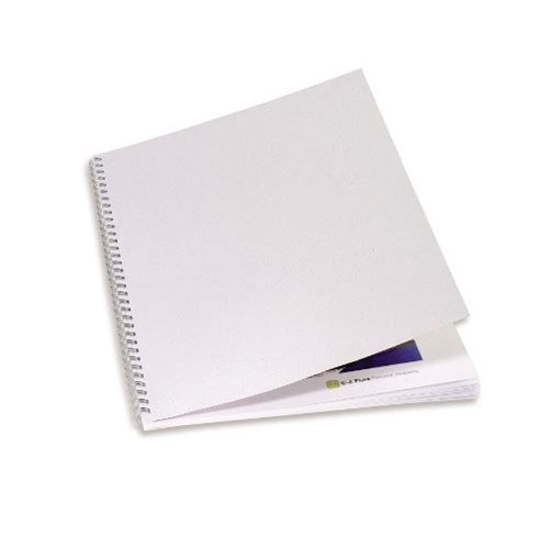 GBC LinenWeave Binding Covers 250gsm A4 White (Pack of 100) CE050010