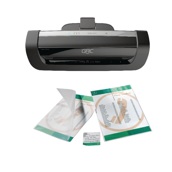 GBC Fusion+ 6000 Laminator with 2 Free Packs of 100 A4 Laminating Pouches GB816439