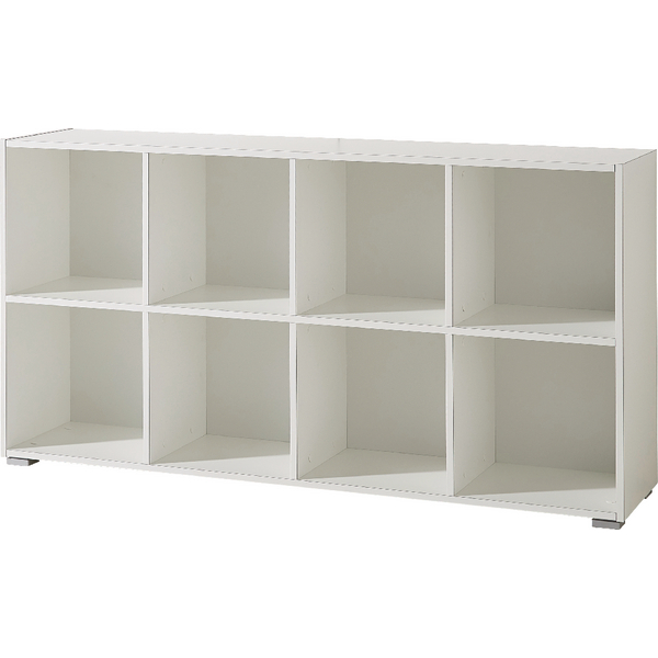 Germania Montreal Low Bookcase 1420mm White (Pack of 1) GER04124