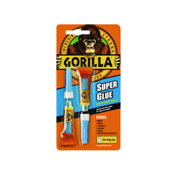Gorilla Super Glue 3g (2 Pack) 4044101