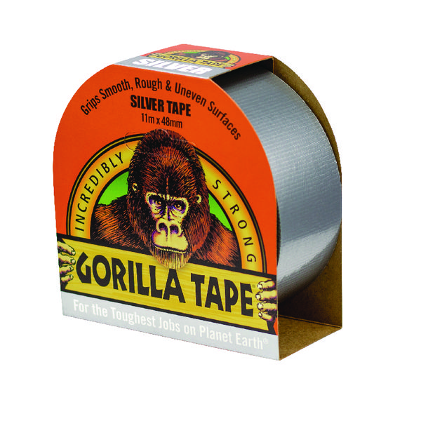 Gorilla Tape 48mm x 11m Silver 3044911