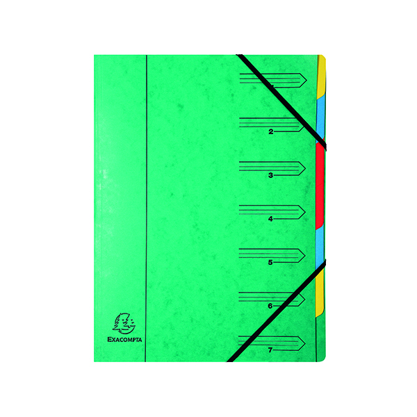 Europa 7 Part A4 Green Organiser 5220Z