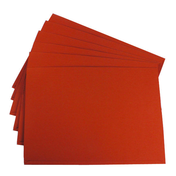 Guildhall Brief Size Pocket Wallet 14x10in Orange (50 Pack) PW3-ORG