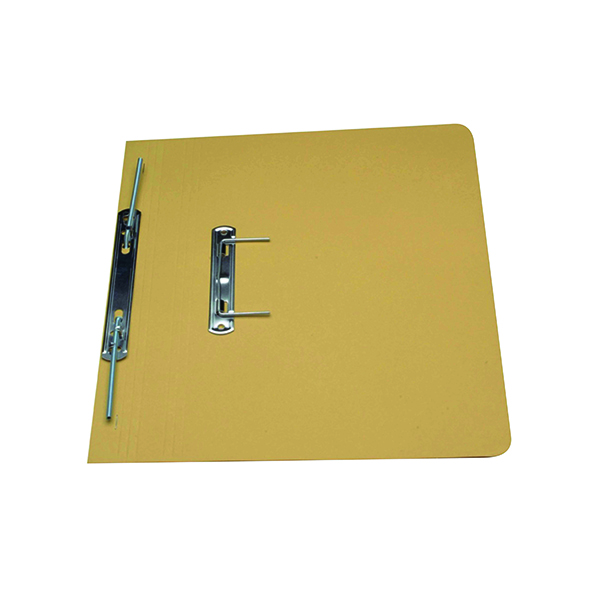 Guildhall Yellow Foolscap Heavyweight Spiral File (25 Pack) 211/7003