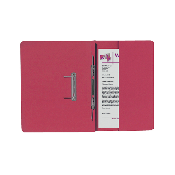 Guildhall Orange Foolscap Right Hand Pocket Spiral File (25 Pack) 211/9063Z