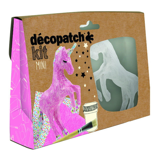 Decopatch Mini Kit Unicorn (5 Pack) KIT009O