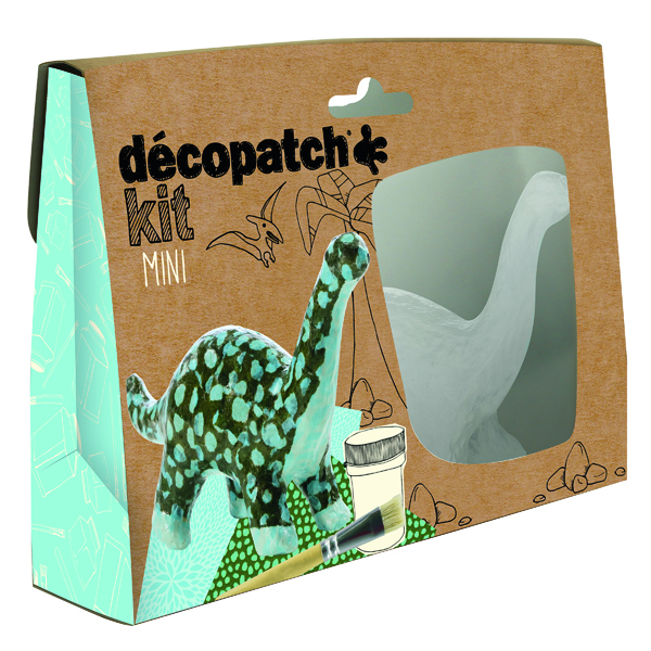 Decopatch Mini Kit Dinosaur (5 Pack) KIT011O