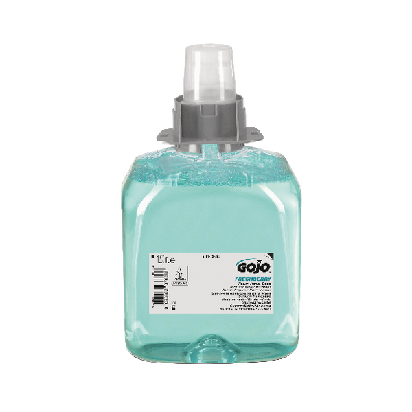 Gojo FMX Luxury Hair Body and Hand Foam Wash Refill 1250ml (3 Pack) 5163-03-EEU
