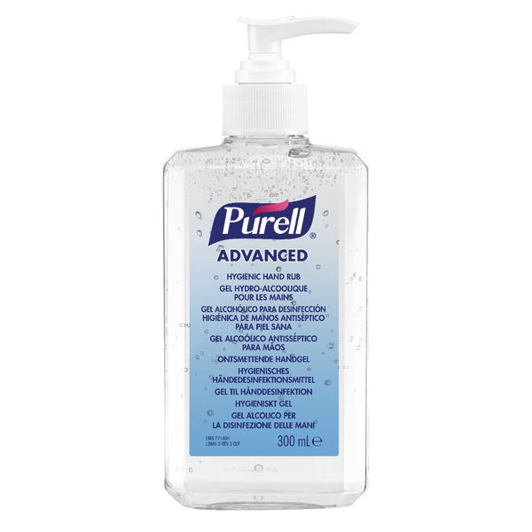 Purell Advanced Hygienic Hand Rub 350ml Bottle 9659-12-EEU00