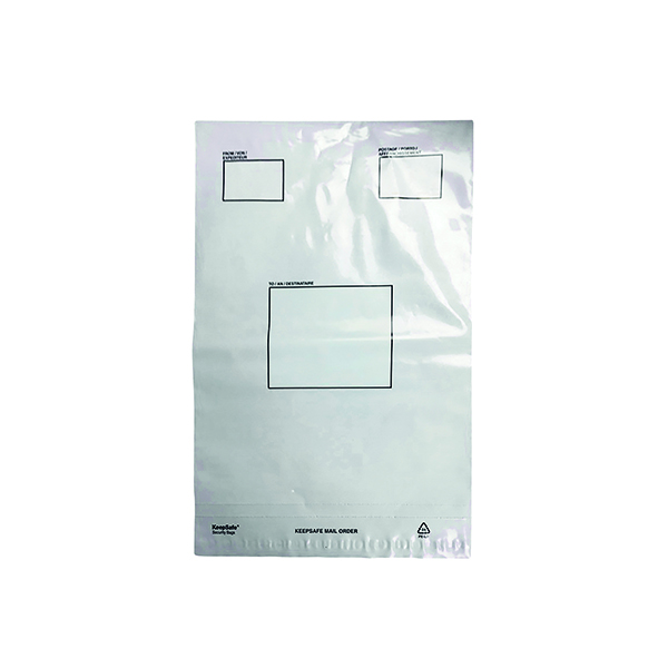 Strong Polythene Mailing Bag 235 x 320mm Opaque (100 Pack) HF20209