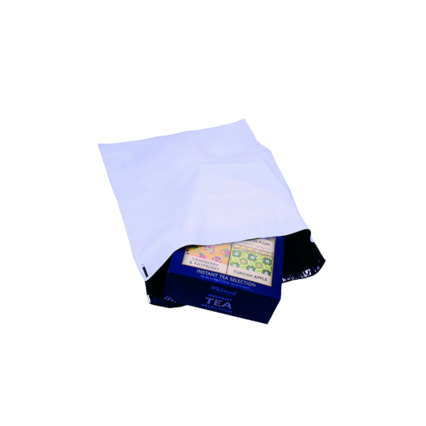 Strong Polythene Mailing Bag 400 x 430mm Opaque (100 Pack) HF20212