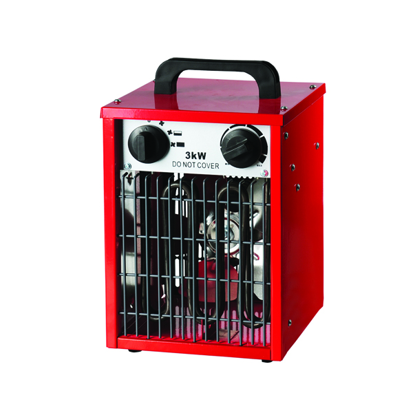 Black 3kW Industrial Fan Heater 42420