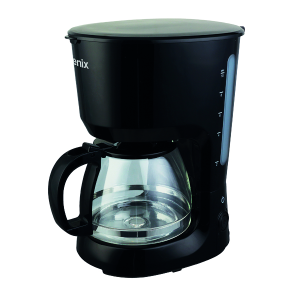 Igenix Black Filter Coffee Maker IG8126