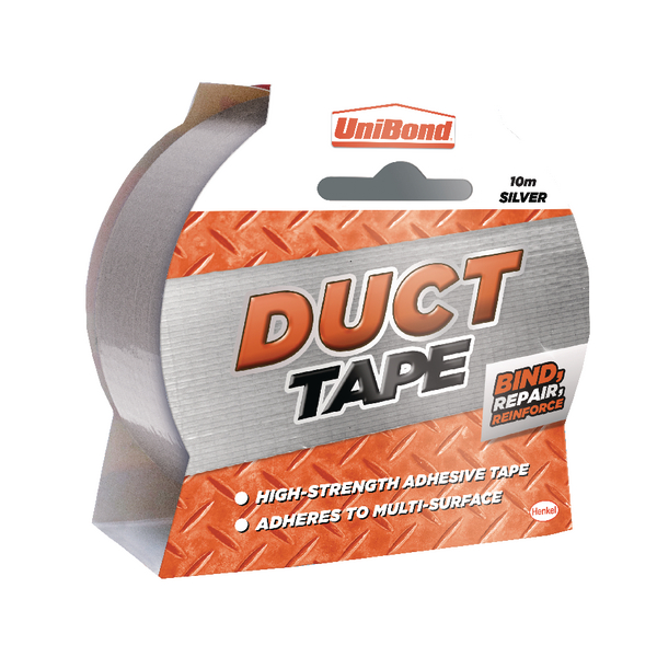 UniBond Silver 50mmx10m Duct Tape 1667265