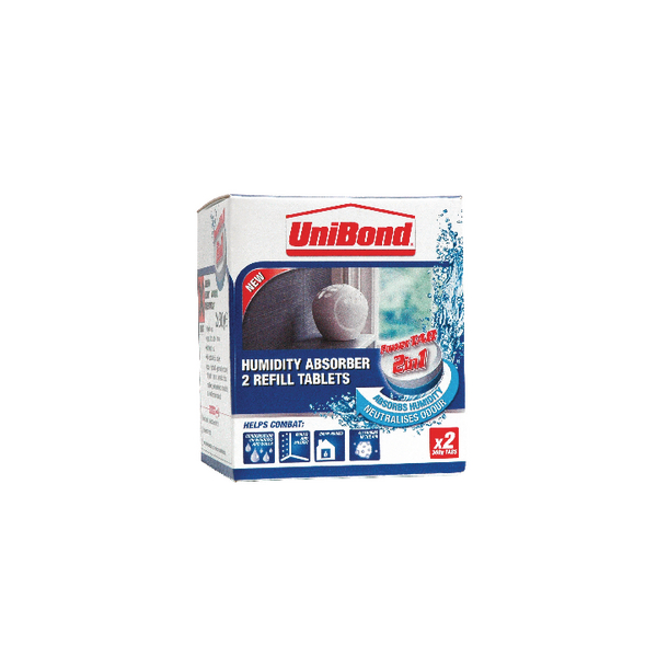 Unibond Humidity Absorber Small Refil (2 Pack) 1554712