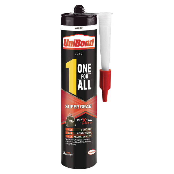 Unibond One For All Super Grab Adhesive 390g 2003459
