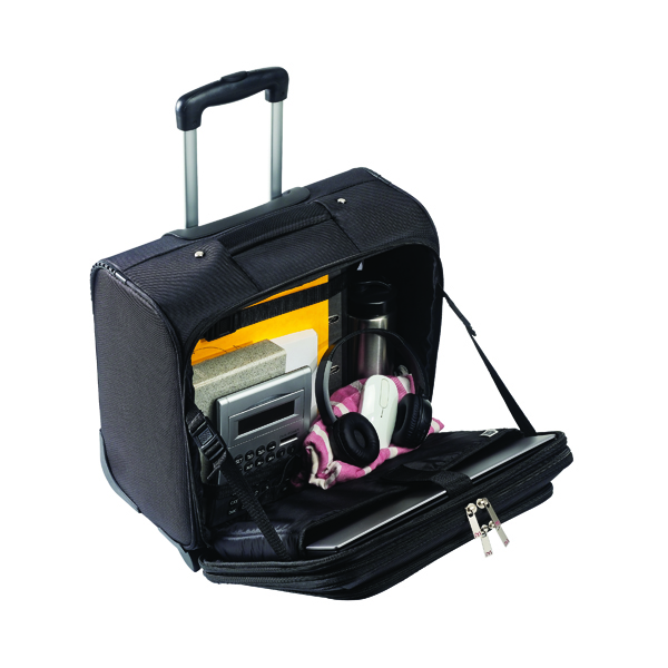 Monolith Motion Wheeled Black Laptop Case 3005