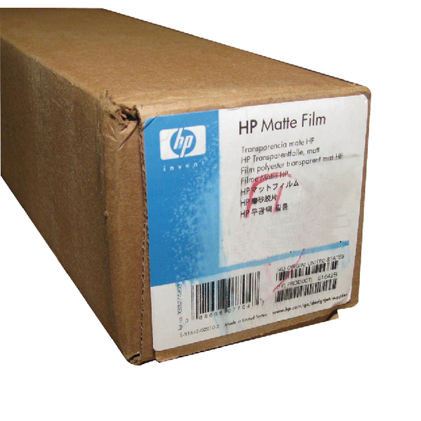 HP Matt Film 610mm x 36m 101micron 51642A
