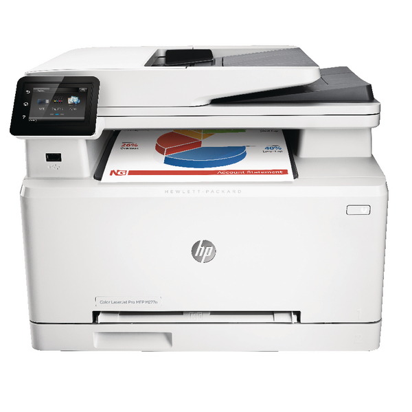 HP Color LaserJet Pro MFP M277n Printer B3Q10A