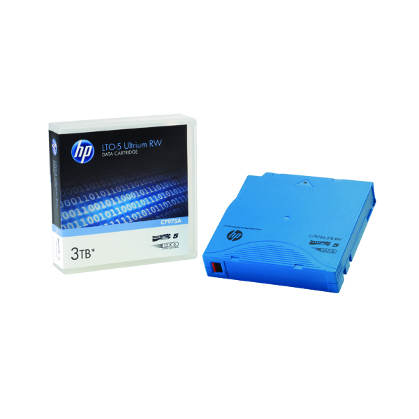HP Ultrium LTO-5 3.0TB Data Cartridge C7975A