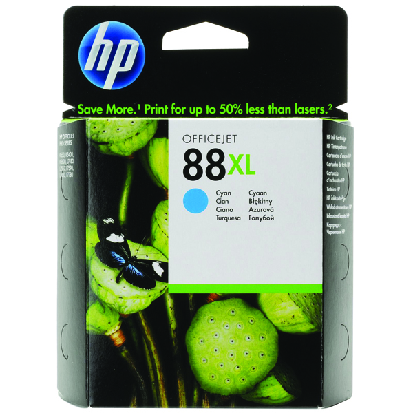HP 88XL Cyan High Yield Inkjet Cartridge C9391AE