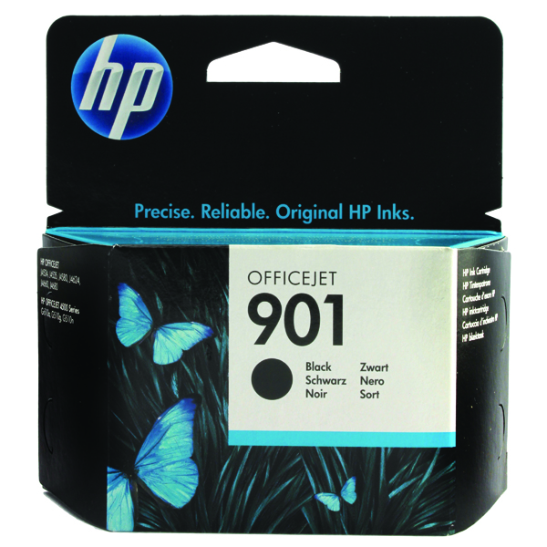 HP 901 Black OfficeJet Inkjet Cartridge CC653AE