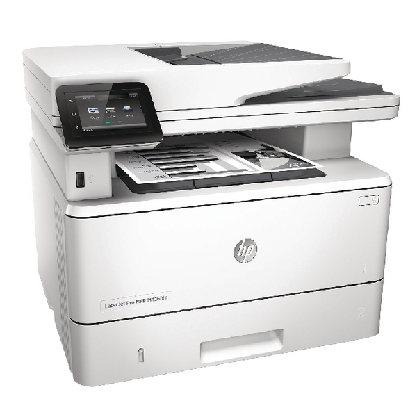 HP LaserJet Pro Multifunctional M426fdn Printer F6W14A#B19
