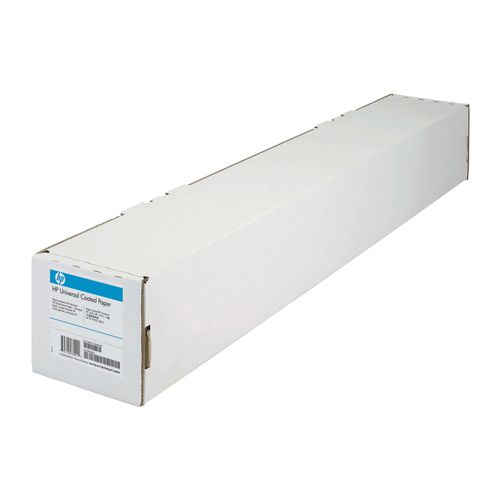HP White Heavyweight Universal Coated Paper 914mm (30.5m Roll) Q1413A
