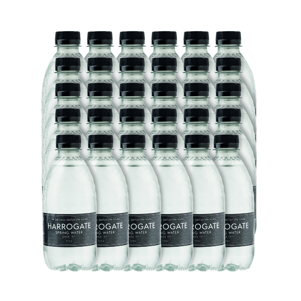 Harrogate Still Spring Water 330ml Plastic Bottle (30 Pack) P330301S