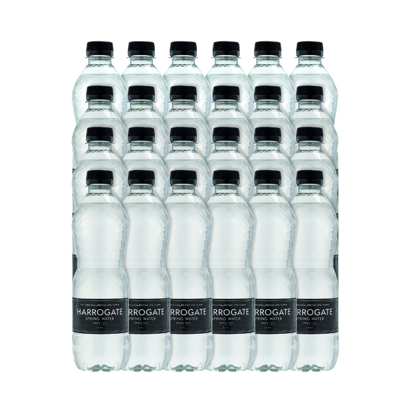 Harrogate Still Spring Water 500ml Plastic Bottle (24 Pack) P500241S