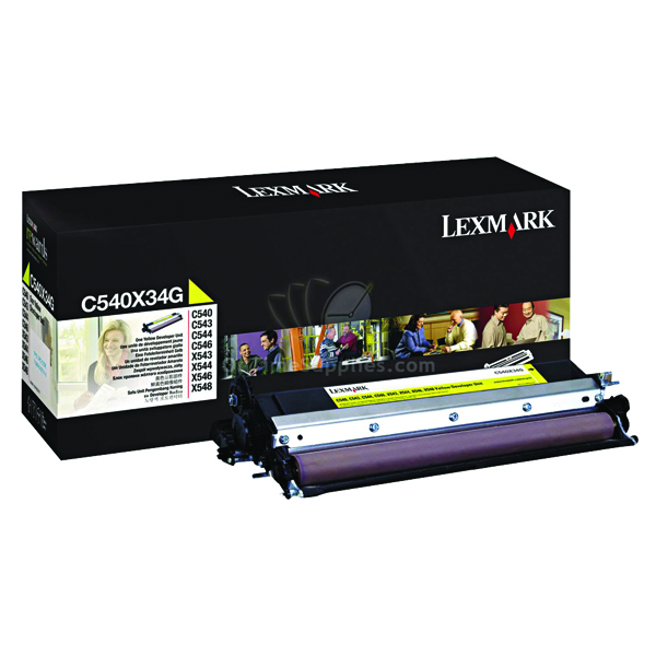 Lexmark Yellow Developer Unit C540X34G