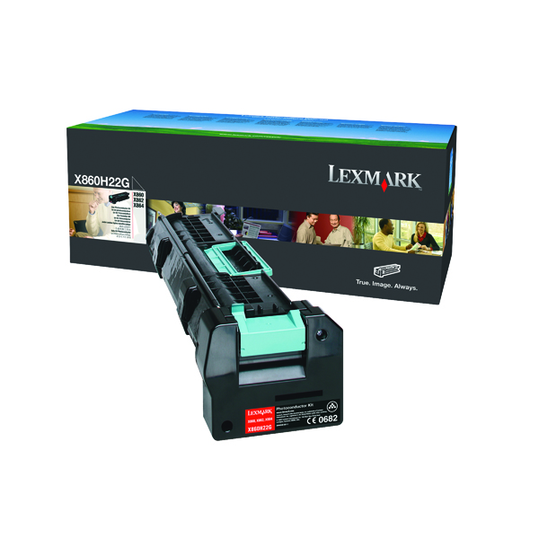 Lexmark Black W850 Photoconductor Unit W850H22G
