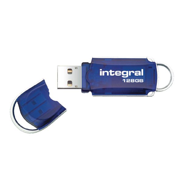 Integral Courier USB 2.0 128GB Flash Drive INFD128GBCOU