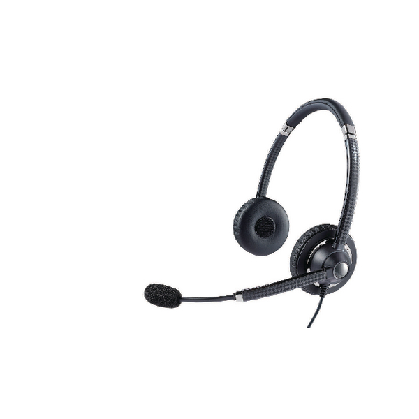 Jabra Black Voice 750 Microsoft UC Duo Hi-Fi Headset 7599-823-309