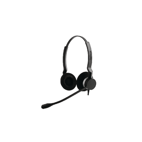 Jabra Biz 2300 USB Microsoft Optimised UC Duo Headset 2399-823-109