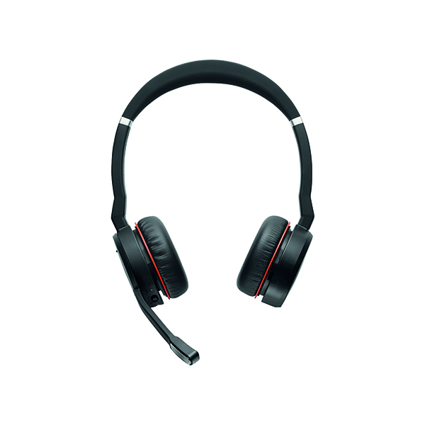 Jabra Evolve 75 Skype for Business Black Headset 7599-832-109