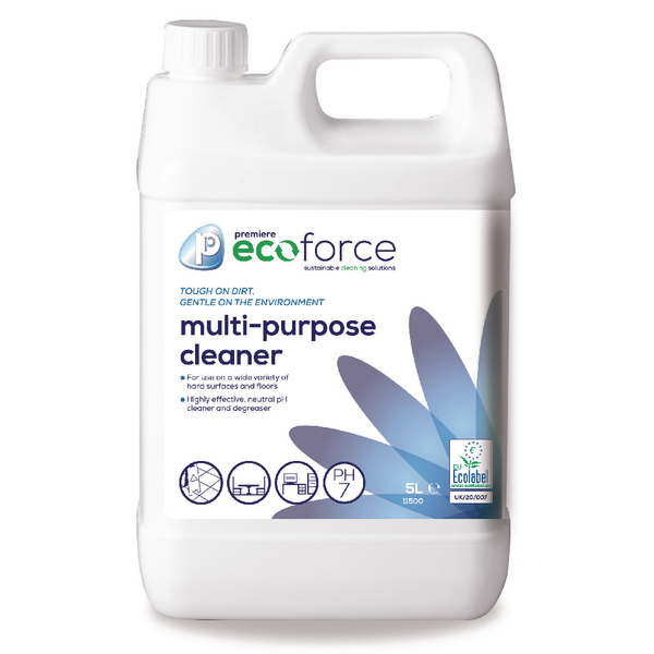 Ecoforce MultiPurpose Cleaner 5 Litre (2 Pack) 11500