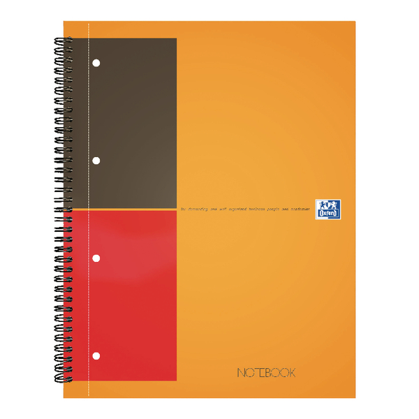 Oxford International Classic A4 Notebook Plus Wirebound 160 Pages 3 for 2 JD00120
